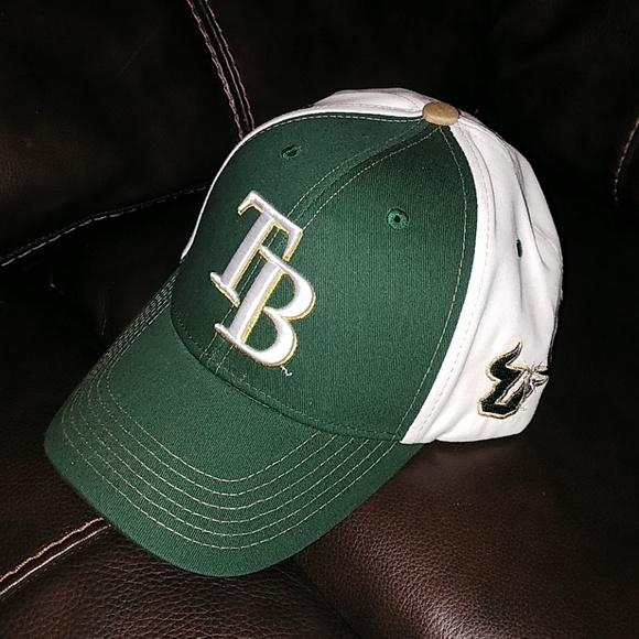 pretty nice f16ec f0aa1 ... cheap tampa bay rays usf bulls baseball cap nwot 15d63 5bf05